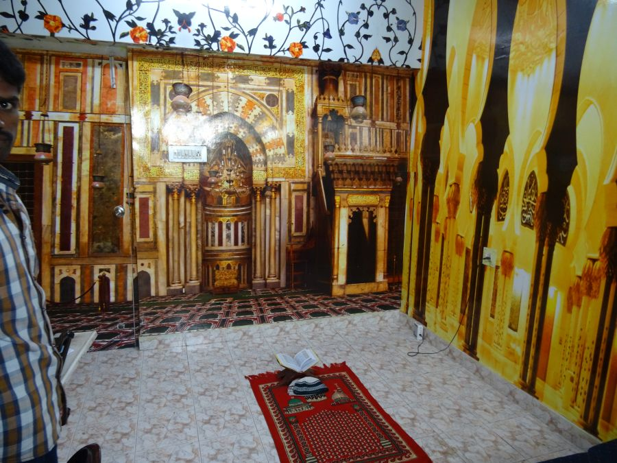 die moschee im temple of temples