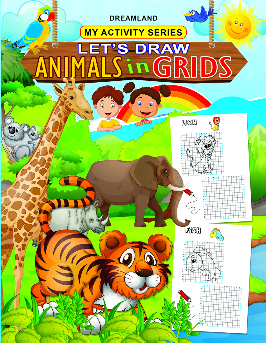 My Activity- Let's Draw Animals in Grids