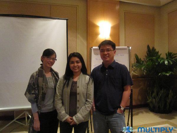 Franchere Chan, Myself and Allan Tan