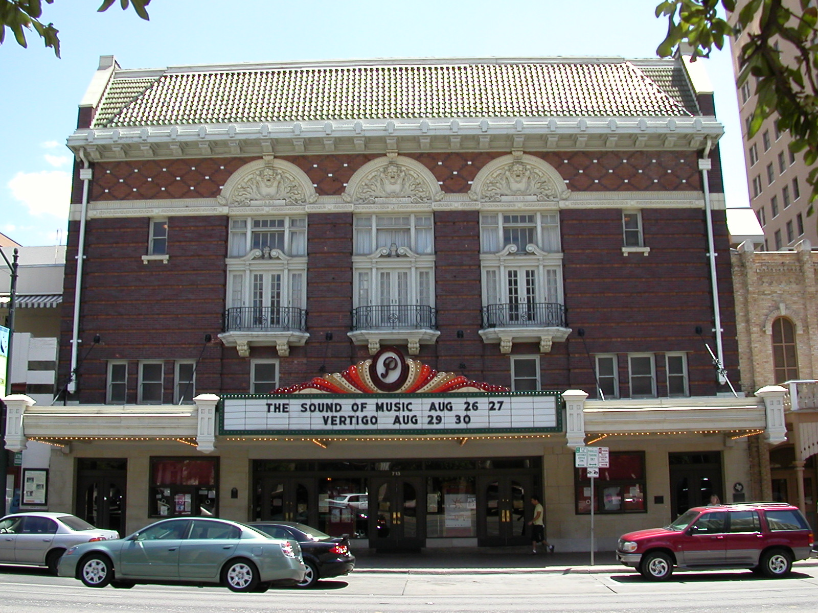 Image: Wide shot of the Paramount Theatre