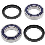 Front Wheel Bearings Seals Kit Suzuki LT-50 QuadRunner 2x4 1984 1985 1986 1987