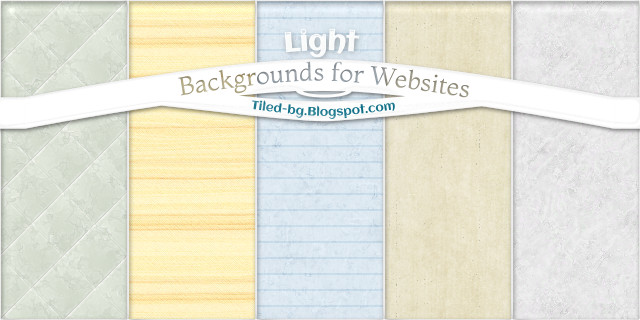 light backgrounds for websites