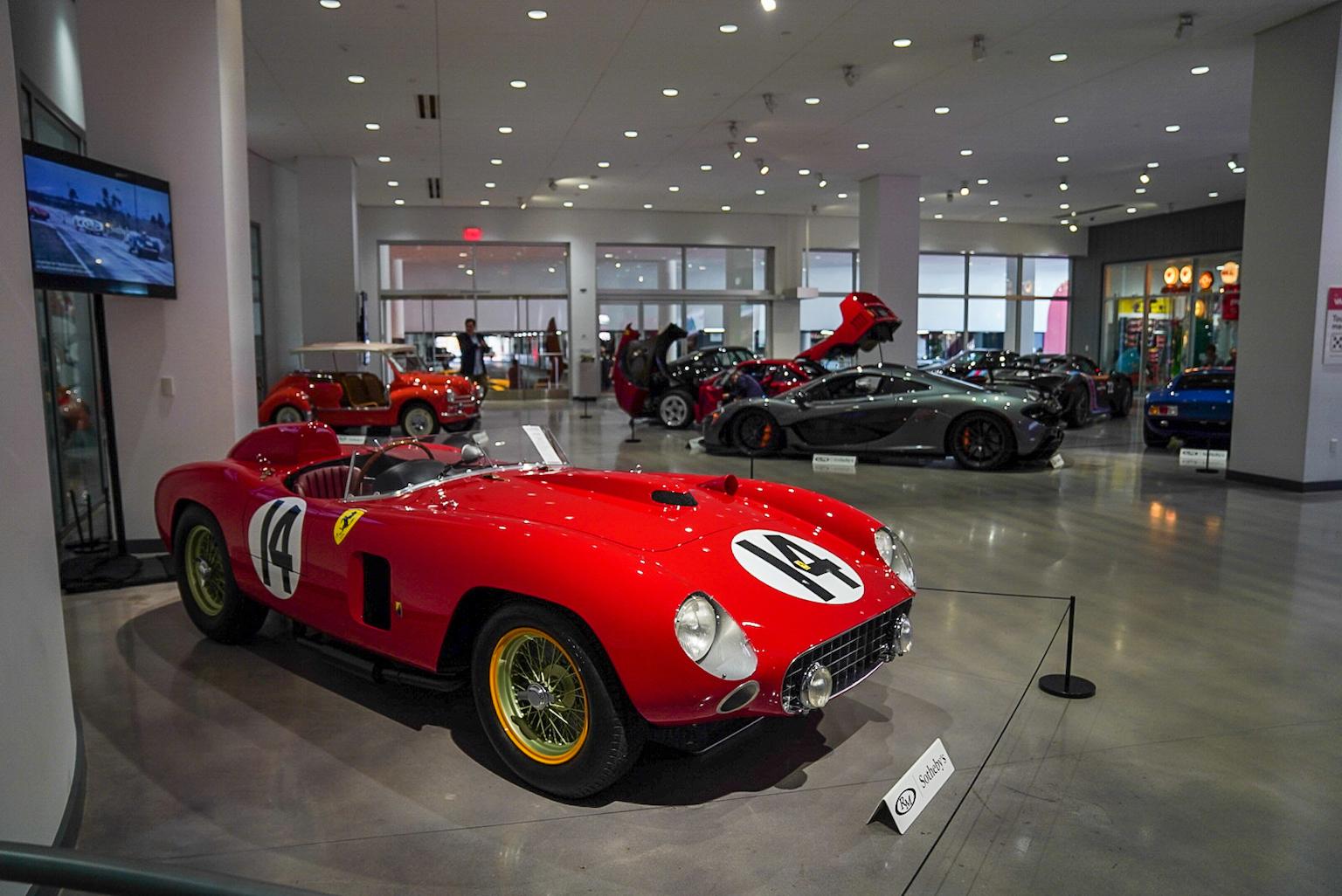 Ferrari 290 MM Sells for $22m at RM Sotheby's Petersen Automotive Museum Sale
