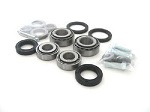 Upgrade Tapered Front Wheel Bearings Seals Kit Honda TRX300EX 1993-2008 DLR Roller Conversion