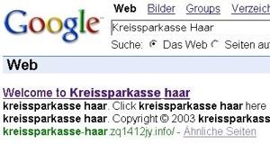 Google-Scam