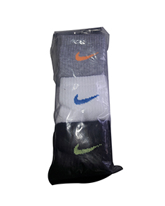 Nike Socks (Pack of 3)