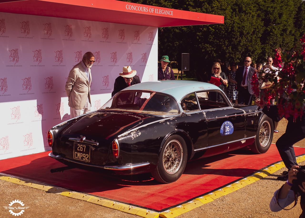 Ex Baillon Collection Maserati A6G Gran Sport set for Gooding and Company sale