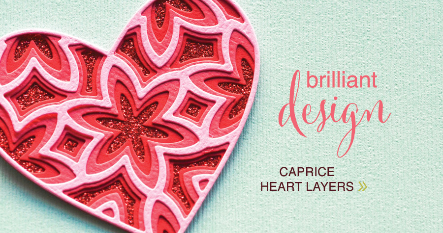 Caprice Heart Layer Set