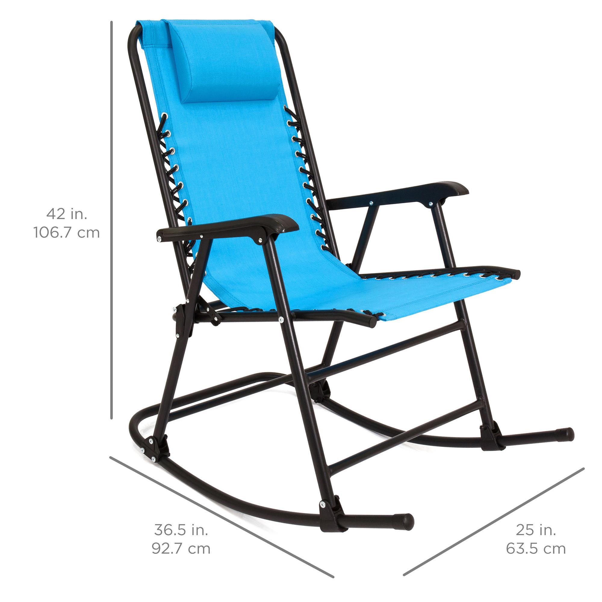 BCP-Foldable-Zero-Gravity-Patio-Rocking-Lounge-Chair thumbnail 49