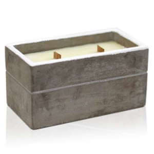 soy wax large concrete candles