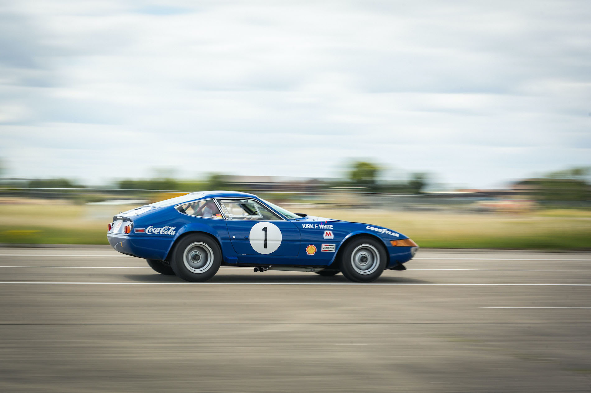 Ferrari 365 GTB/4 Daytona Independent Competizione heads to auction