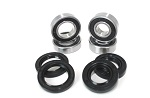 Both Front Wheel Bearings and Seals Kit Honda TRX200SX 1986 1987 1988