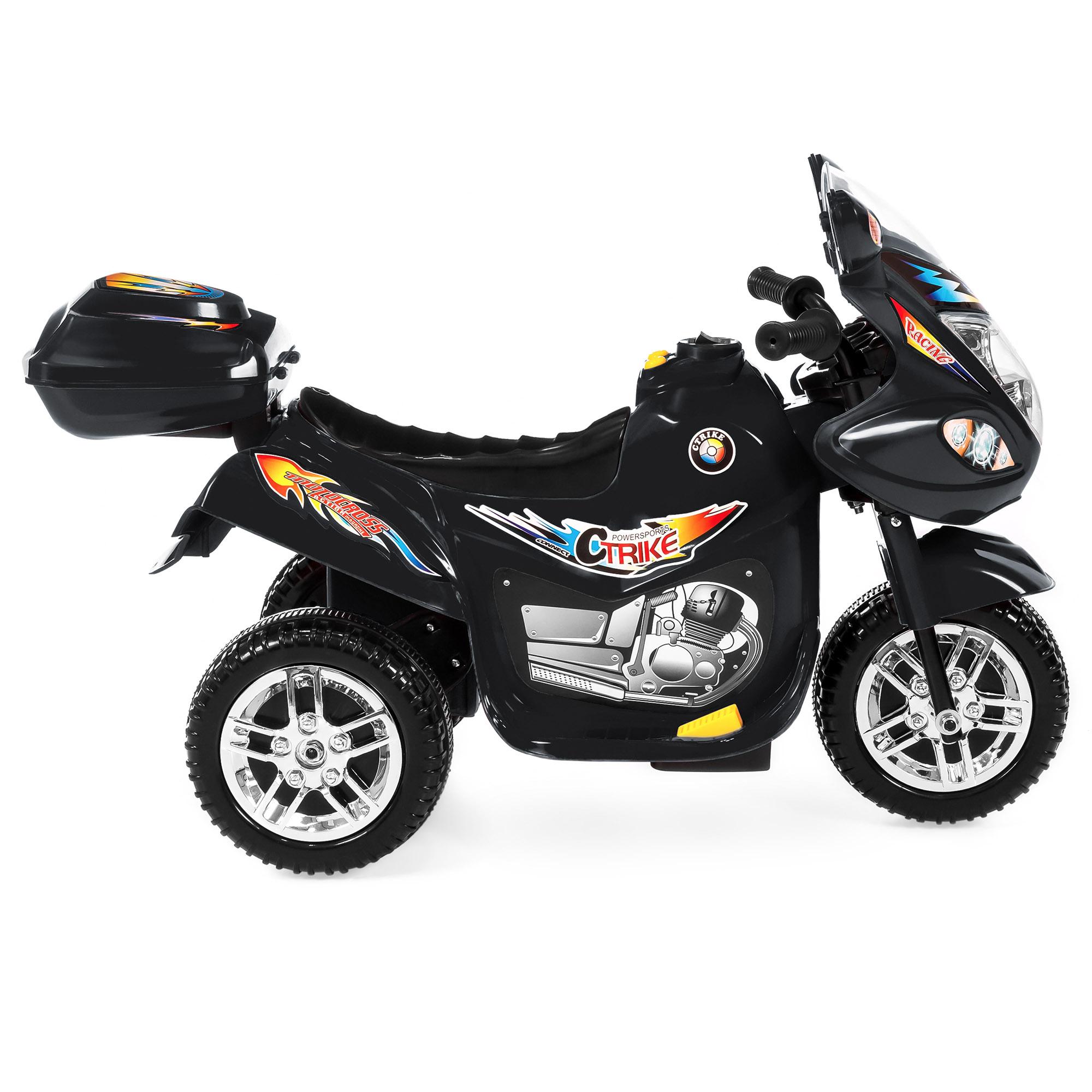 BCP-6V-Kids-3-Wheel-Motorcycle-Ride-On-Toy-w-LED-Lights-Music-Storage thumbnail 9