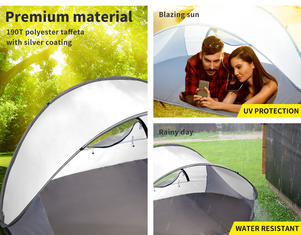 Mountvie-Pop-Up-Tent-Camping-Beach-Tents-4-Person-Portable-Hiking-Shade-Shelter thumbnail 28