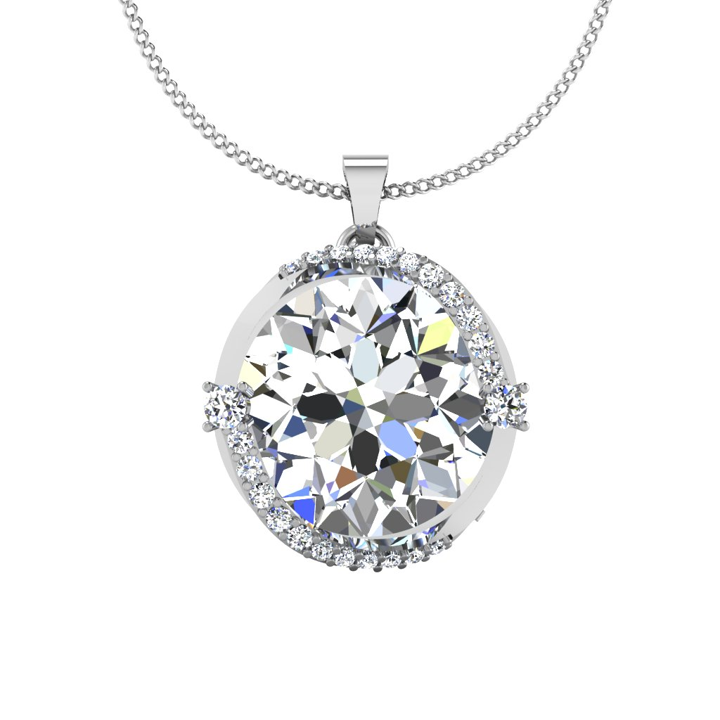 The Luca Solitaire Pendant