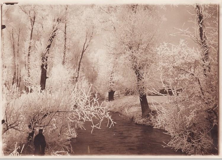 Les bords de Selle en 1917