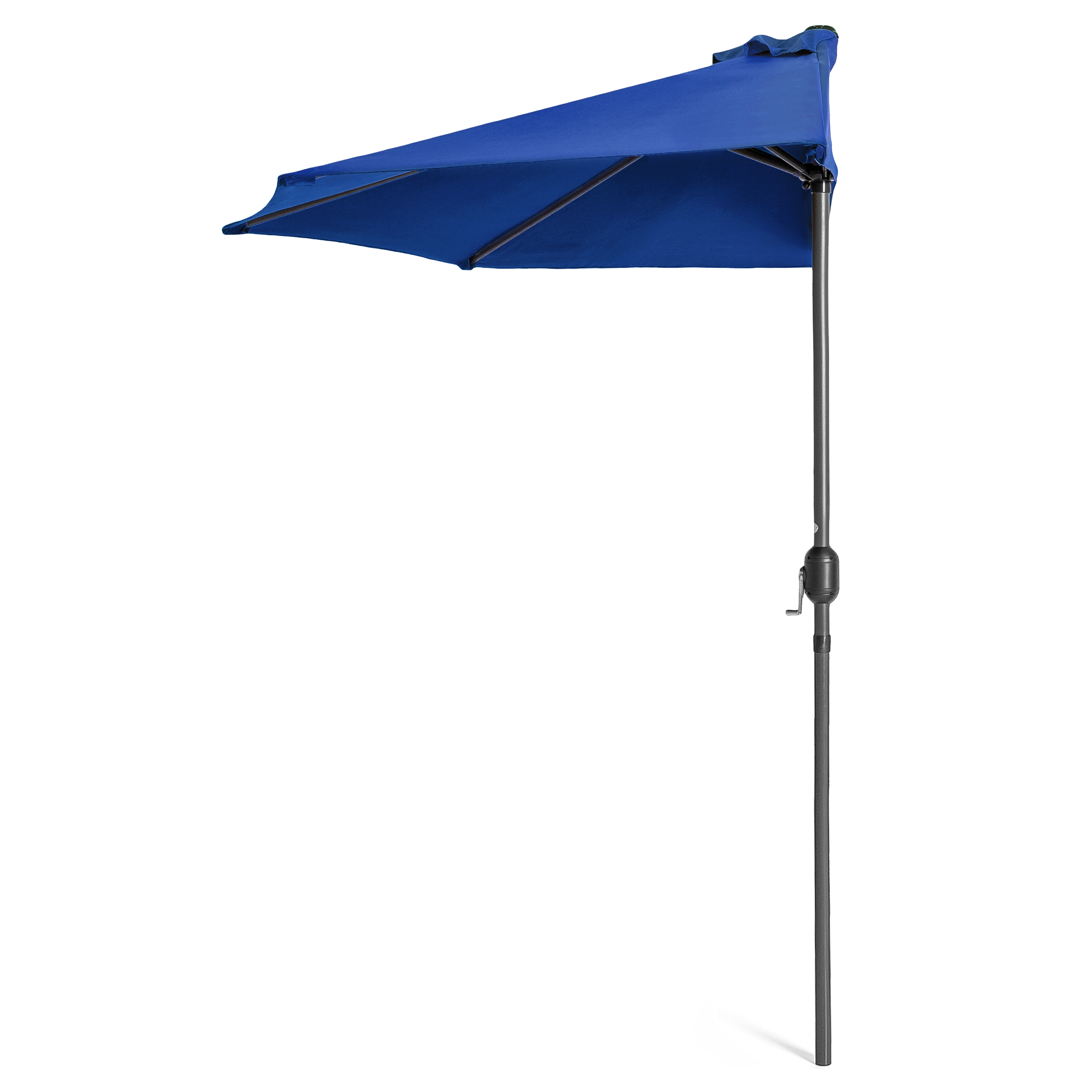 BCP-9ft-Half-Patio-Umbrella-w-Crank-Steel-Frame-UV-amp-Water-Resistant-Fabric thumbnail 8