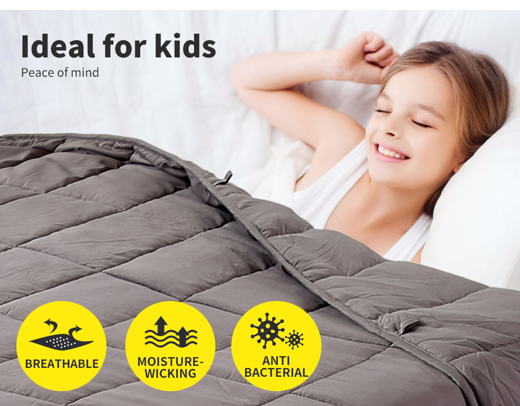 thumbnail 15 - DreamZ Weighted Blanket Heavy Gravity Deep Relax 5/7/9KG Adult Kid Double Queen