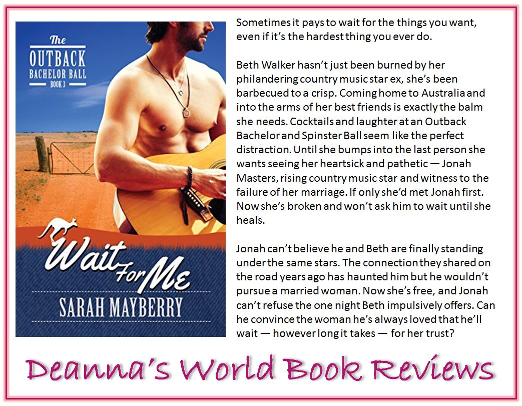Wait For Me by Sarah Mayberry blurb