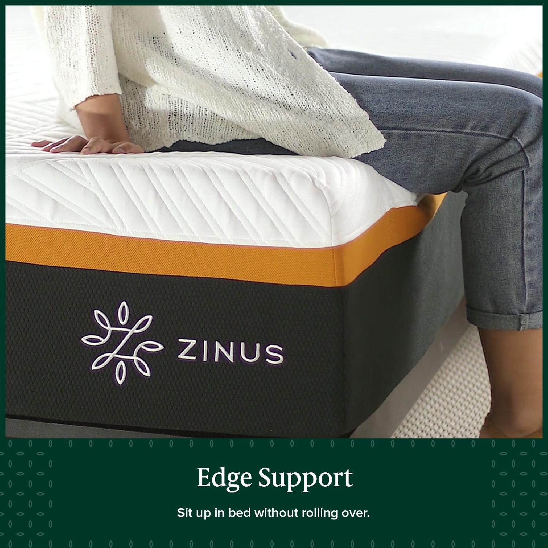 thumbnail 90 - Zinus Mattress Queen Double King Single Bed Memory Foam Pocket Spring Hybrid
