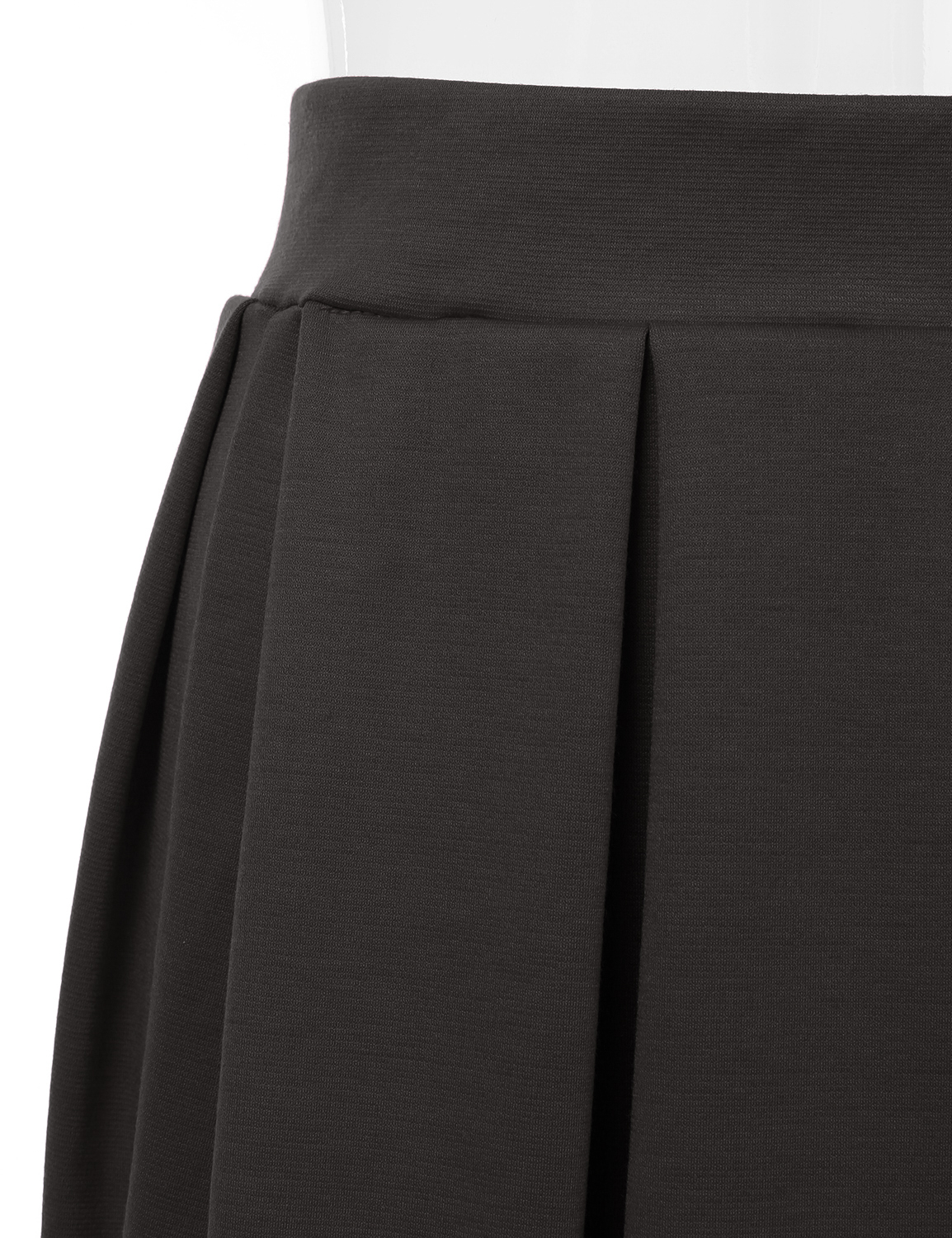Doublju-Elastic-Waist-Flare-Pleated-Skater-Midi-Skirt-for-Women-with-Plus-Size thumbnail 37