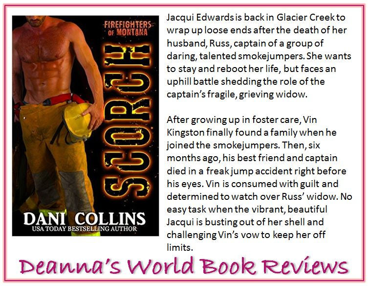 Scorch by Dani Collins blurb