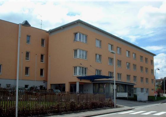 Ansicht Seniorenwohnheim Mehrnbach Nordseitig