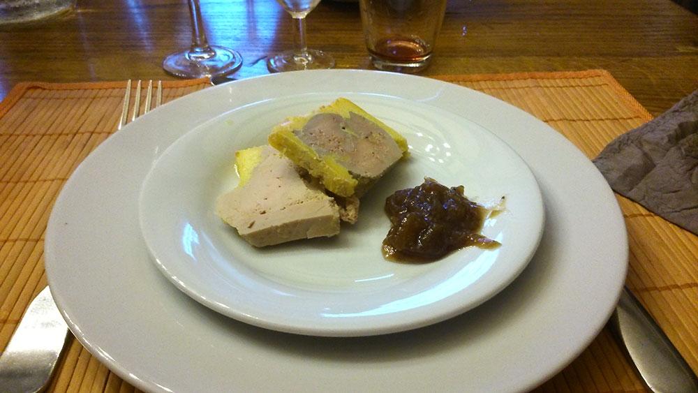 Quelques spécialitées culinaires du sud ouest  Foie-gras