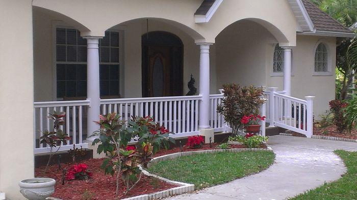 vinyl porch fence phoenix az