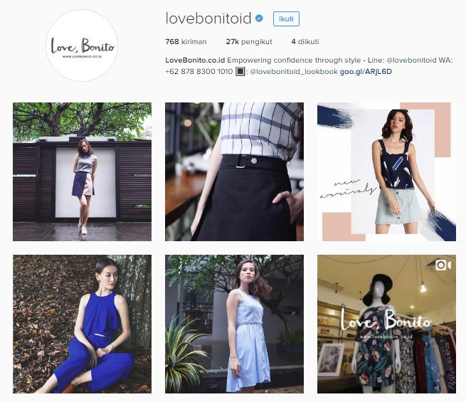 instagram Love Bonito Indonesia