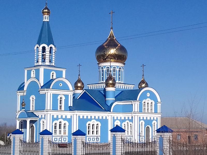 храм в селе Дивном