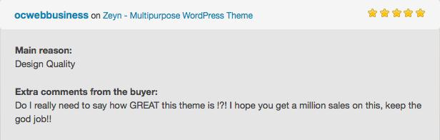 Фото Шаблон Wordpress платный  Zeyn - Multipurpose WordPress Theme — testi5.png?dl=0&preview=testi5