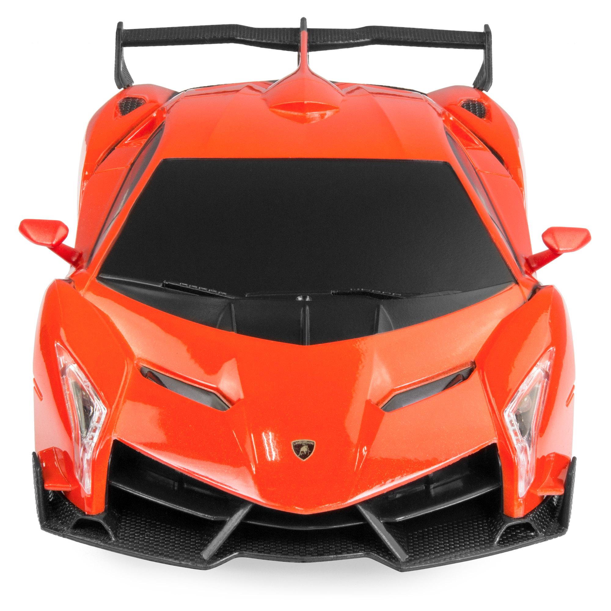 BCP-1-24-Kids-RC-Lamborghini-Veneno-Racing-Car-Toy-w-Lights-Shock-Suspension thumbnail 12