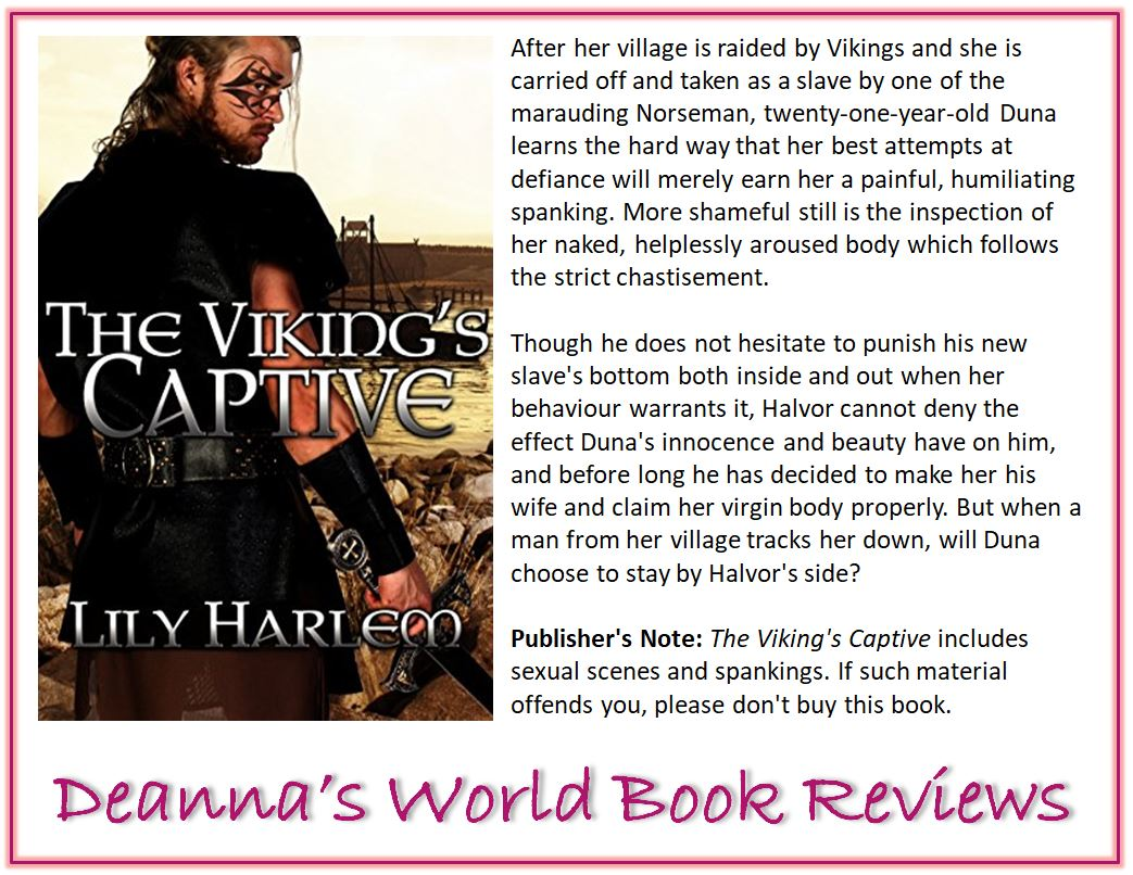 The Viking's Captive by Lily Harlem blurb