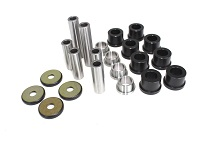 Rear Control A-Arm Bushings Bearings Seals Kit Yamaha YXR450 RHINO 450 2008 2009