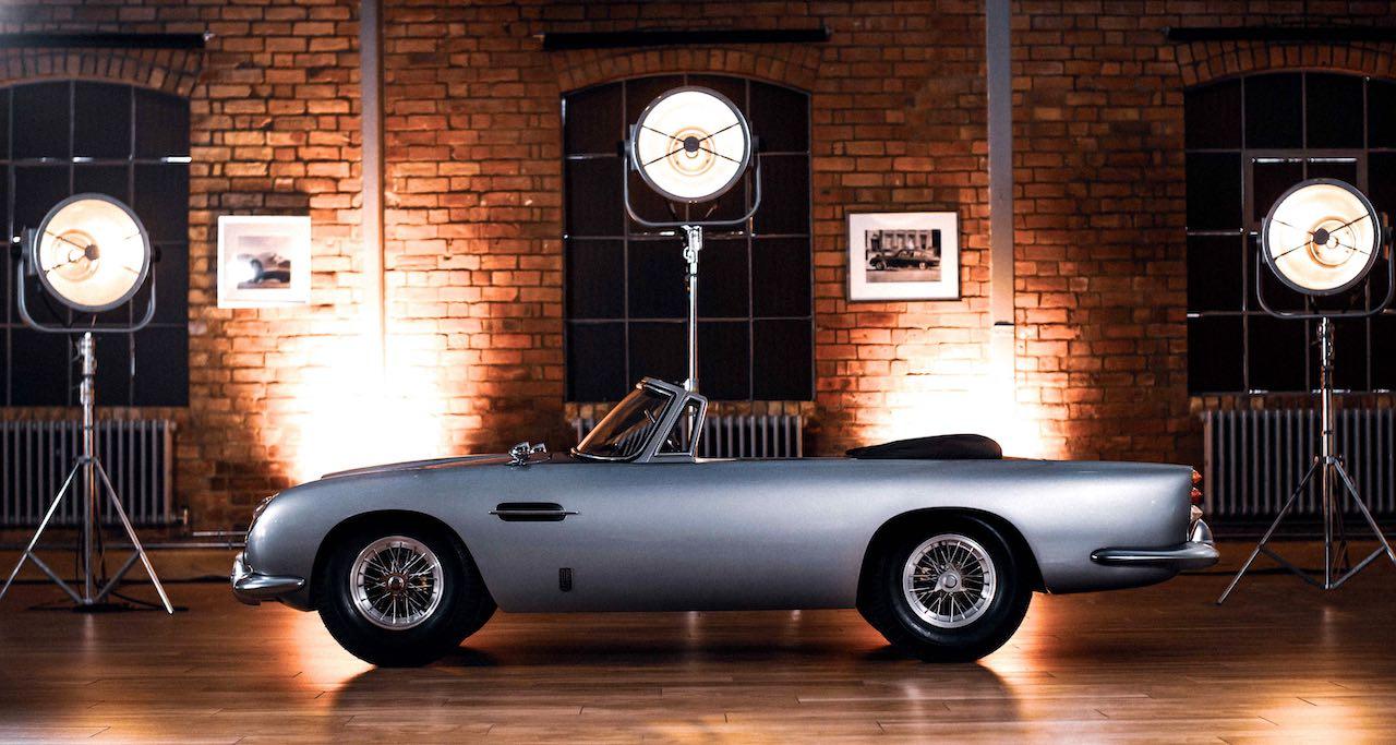 Aston Martin and The Little Car Company unveil DB5 Junior