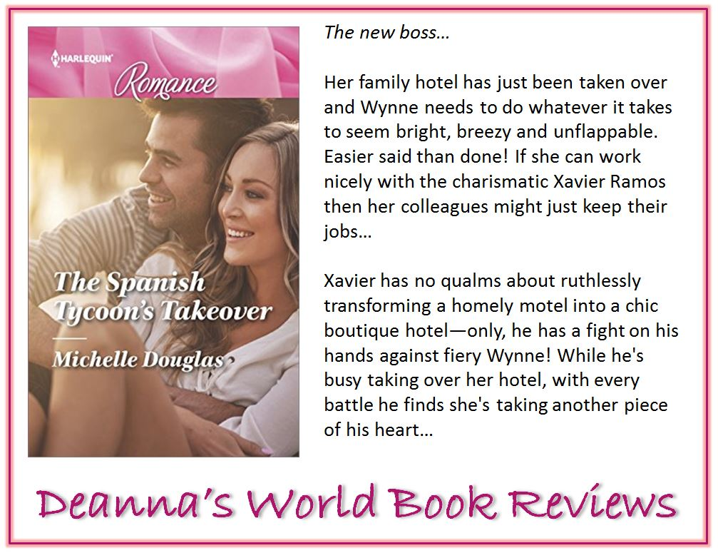 The Spanish Tycoon's Takeover by Michelle Douglas blurb