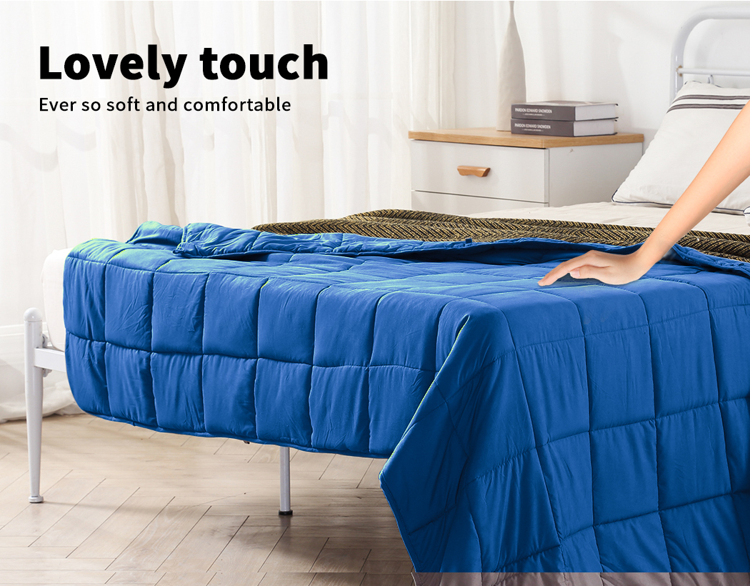 thumbnail 78 - DreamZ Weighted Blanket Heavy Gravity Deep Relax 5/7/9KG Adult Kid Double Queen