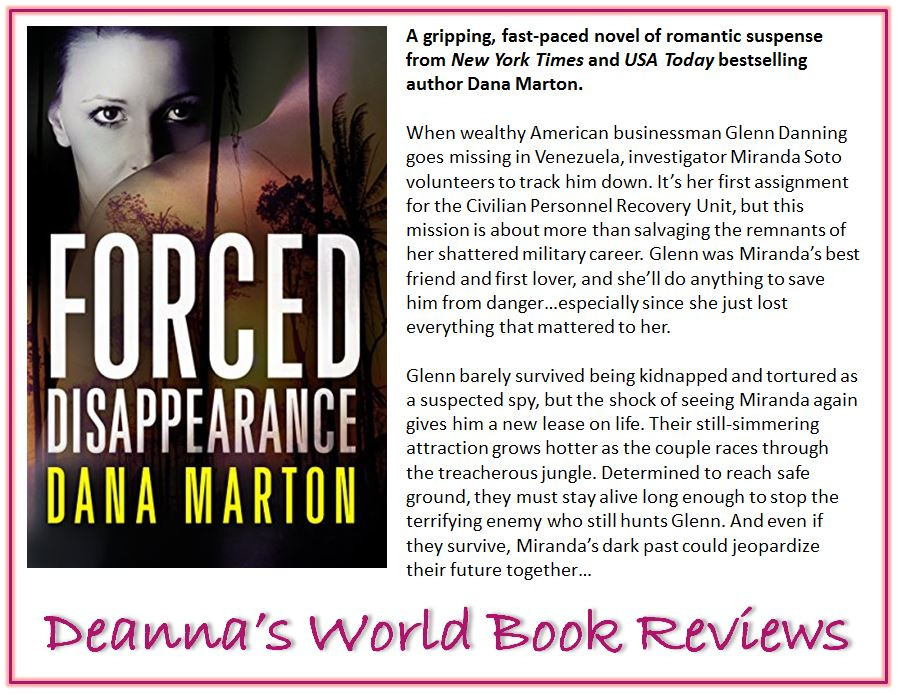 Forced Disappearance by Dana Marton blurb