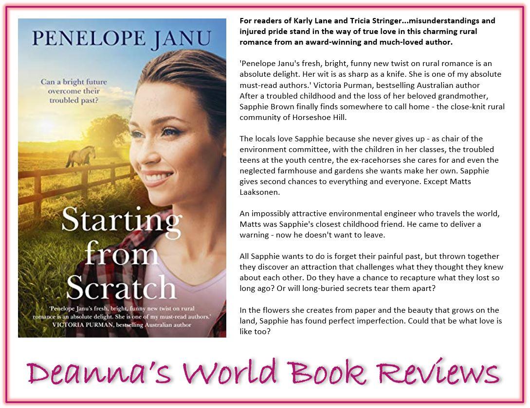 Starting From Scratch by Penelope Janu blurb
