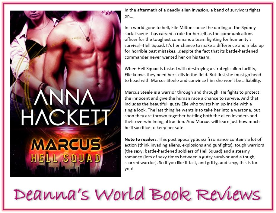 Marcus by Anna Hackett blurb