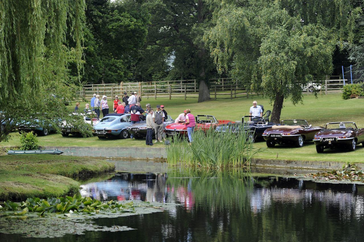 Celebrating 60 years of the Jaguar E-type at Shelsley Walsh