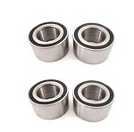 All 4 Front and Rear Wheel Bearings Kit Polaris RZR XP 900 LE EPS 2013
