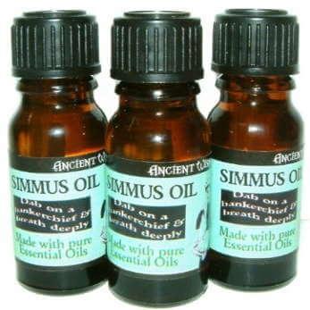 simmus oil essential oil blends - 10ml