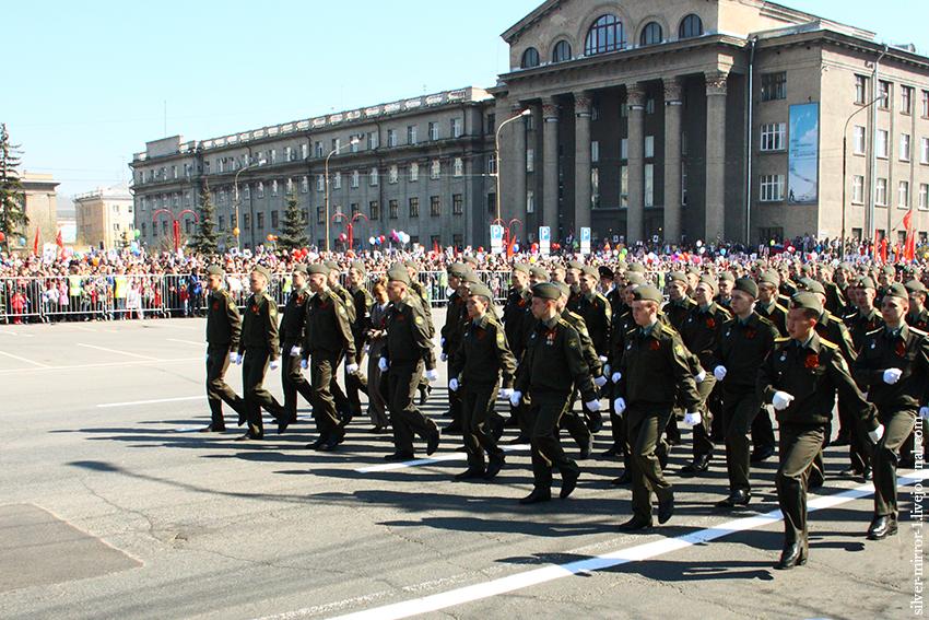 сколько красноярске парад в мая во 9 будет