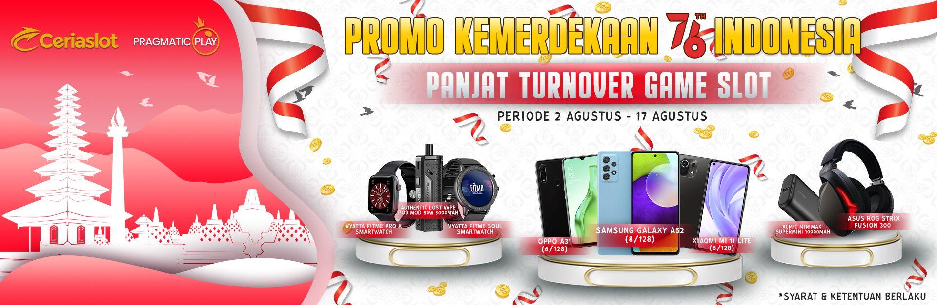 Promo KEMERDEKAAN 76 Th INDONESIA