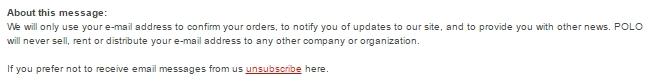 Abmelde-Link in einer SPAM-Mail - nicht verwenden