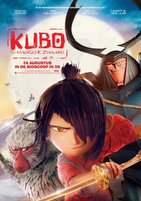 Kubo en het Magische Zwaard (NL) 3D