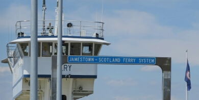 Scotland to Jamestown