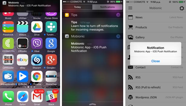 Mobionic - PhoneGap / Cordova Full Hybrid App - 10